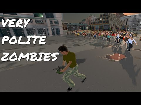 Get To A Gun - The Nicest, Politest Zombie Apocalypse