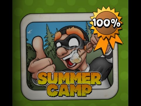 Robbery Bob. 100%. Bonus Chapters ( SUMMER CAMP ) 1-15 END (Lever Eight AB)