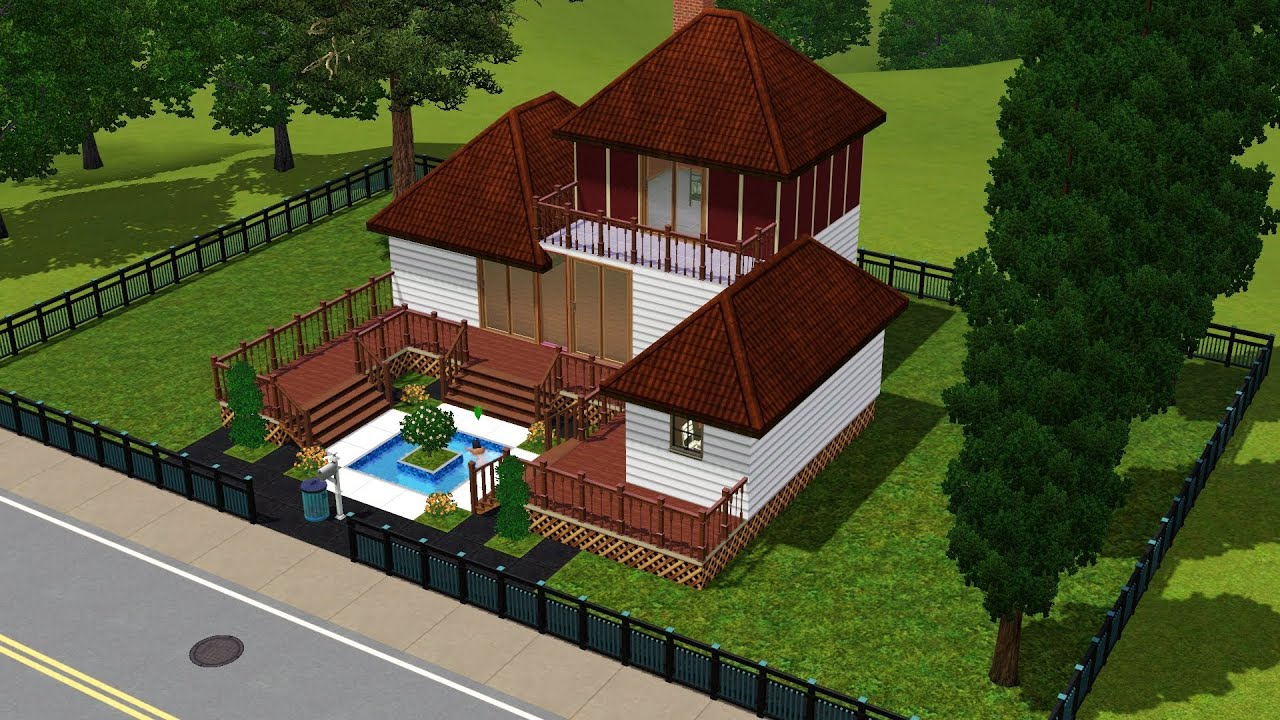 5 Homes That Prove That Less Is More: Sims 3 Starter House Less Than 15k