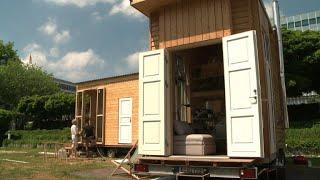 Allemagne: Les Tiny Houses, Logements Miracles Pour Les Réfugiés