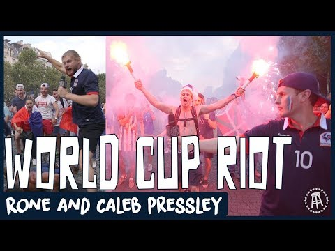France fans RIOT after winning the World Cup - Rone and Caleb Pressley