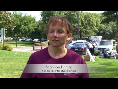 Springfield College Move In Day 2017
