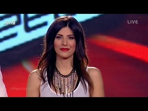 The Voice of Greece | ΑΝΝΑ ΜΑΡΙΑ ΜΠΙΛΙΔΑ - ΜΟΙΡΑ ΜΟΥ ΕΓΙΝΕΣ | 4th Live Show (S01E16)