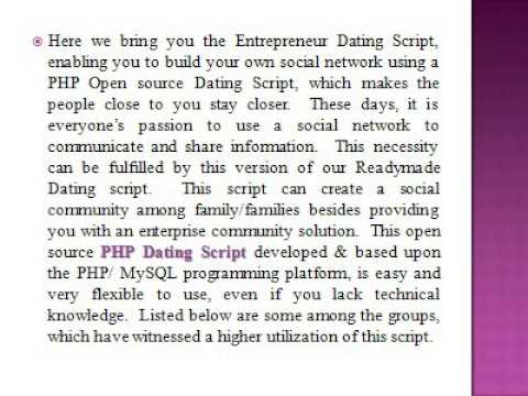 PHP Matrimonial   PHP Dating Script