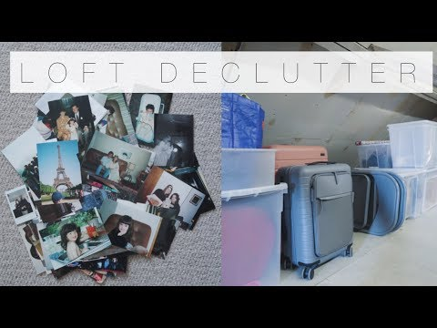 Clear Out My Loft With Me | An Edited Life | The Anna Edit