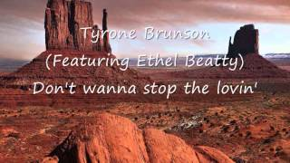 Tyrone Brunson (Featuring Ethel Beatty) - Don