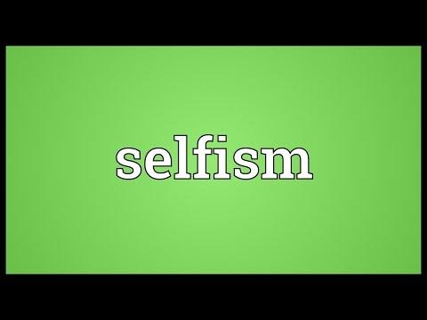 Header of selfism