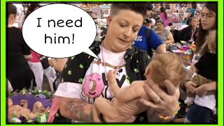 Did I Buy a $10,000 Doll? Super Realistic Silicone Baby Dolls - ROSE Doll Show Day 2