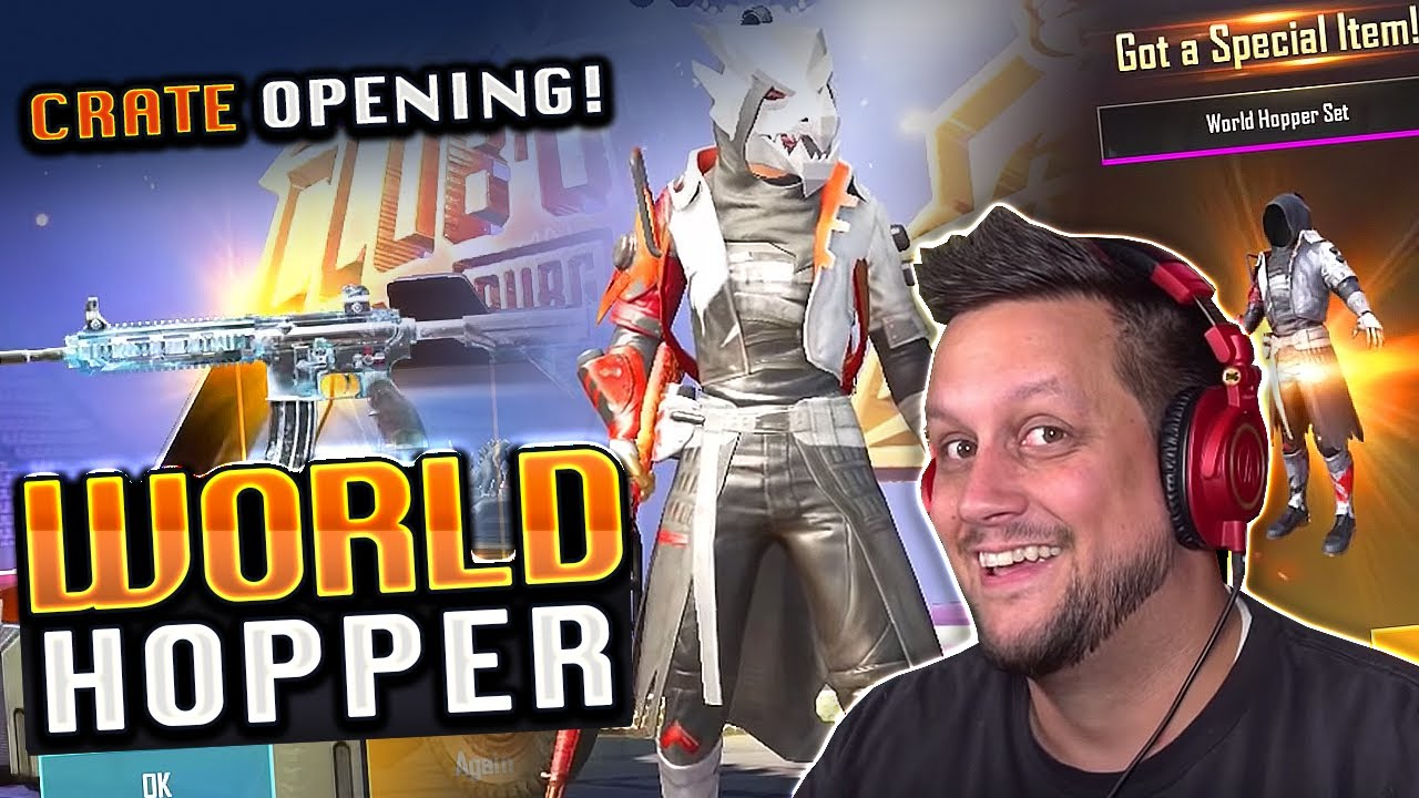 WORLD HOPPER CRATE OPENING - MEIN NEUES LIEBLINGS-OUTFIT? + video
