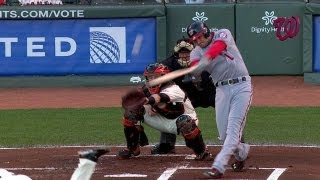 WSH@SF: Nats jump on top early on Zimmerman