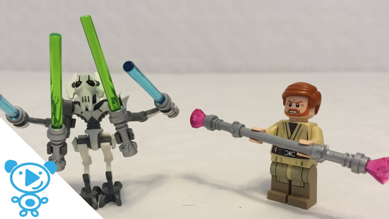 Lego Star Wars Anakin Vs Obi Wan Duel On Mustafar Moc