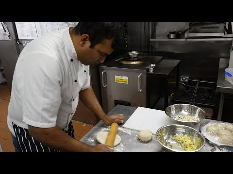 Paneer & Aloo Paratha Recipes by Nepalese Chef Santosh Shah a Contestant on MasterChef Professionals