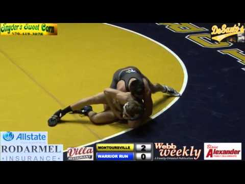 MONTOURSVILLE VS WARRIOR RUN WRESTLING