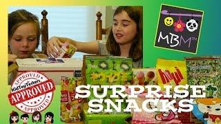 Surprise Snacks Box Challenge From KidToyTesters