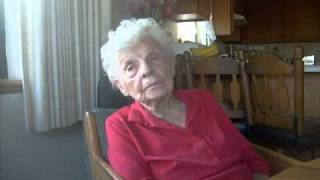 102 year old woman talks about her diet and life and religion