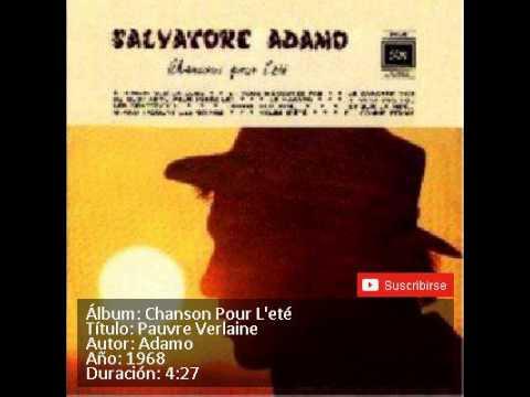 4 PAUVRE VERLAINE   ADAMO mp3