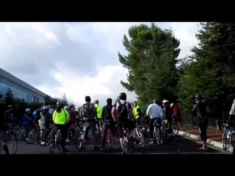 San Jose Bike Party November Test Ride #1
