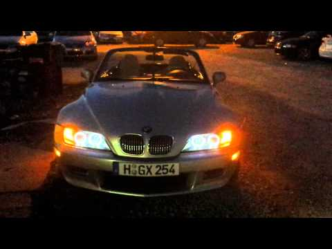bmw z3 led lighting youtube. Black Bedroom Furniture Sets. Home Design Ideas