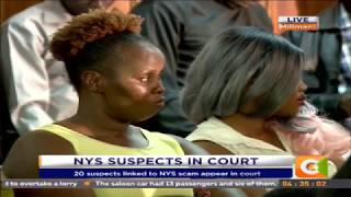 NYS Scam suspects formally charged at Milimani Law Courts