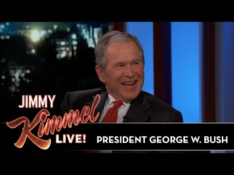 President George W. Bush on His Parents & His Date with Nixon's Daughter