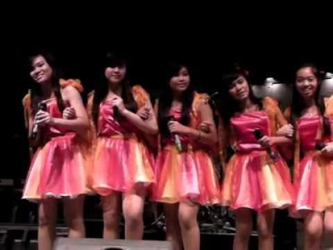 BEST FRIEND FOREVER - Cherrybelle by Cotton Candy @ LA PIAZZA DEC 11 2011