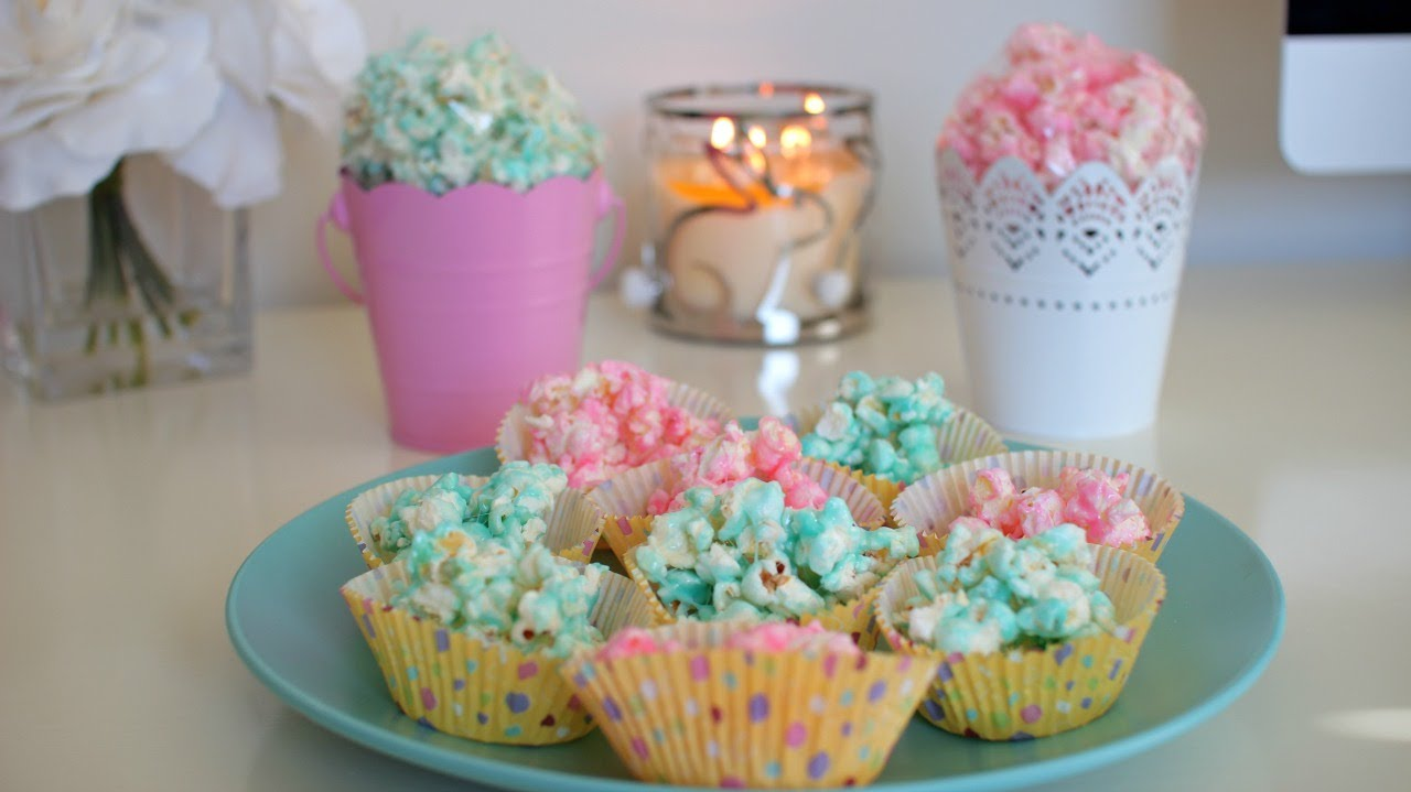 Diy quick easy easter treat peepcorn diy candy popcorn youtube negle Gallery