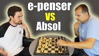 Partie d'échecs avec e-penser !