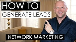Network Marketing Lead Generation — 3 Tips