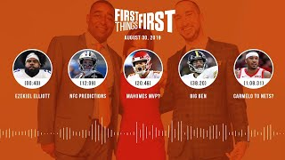 First Things First Audio Podcast(8.30.19) Cris Carter, Nick Wright, Jenna Wolfe | FIRST THINGS FIRST