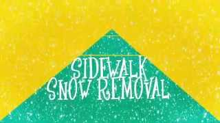 Sidewalk Snow Removal Policy