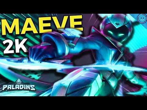THESE DAGGERS HIT HARD! 2000 Burst In A Second! Cat Burglar Maeve Gameplay (Paladins)