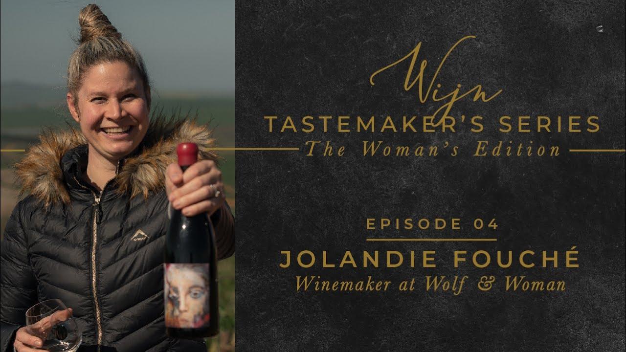 Jolandie Fouché, wijnmaker Wolf and Woman en Kloovenburg, Swartland.