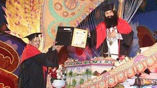 Dera chief Gurmeet Ram Rahim gets doctorate degree from London