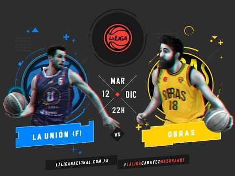Liga Nacional: La Unión vs. Obras | #LaLigaEnTyCSports
