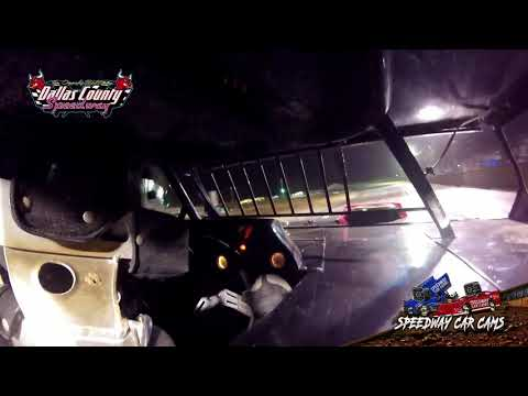 Winner #18 Jc Morton - Usra B Modified - 8-15-19 Dallas County Speedway- In Car Camera