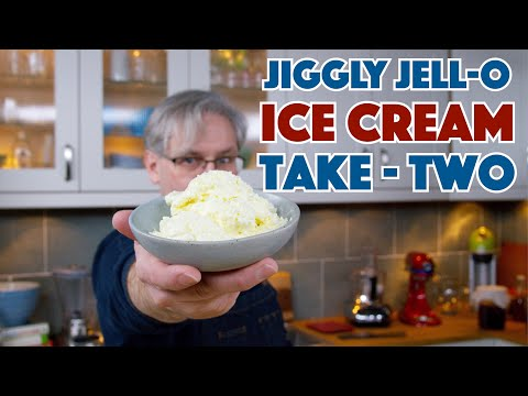 🔵 Jell-O Ice Cream Tests - Take 2