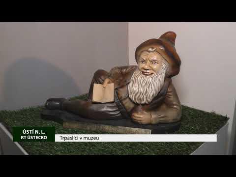 ÚSTÍ NAD LABEM: Expozice o historii trpaslíků v muzeu