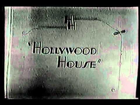 HOLLYWOOD HOUSE opening credits ABC comedy variety series
