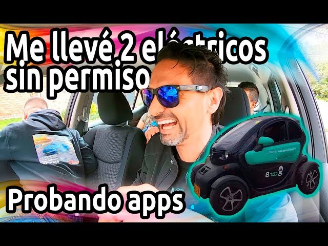 JUGANDO con CARROS prestados por APPS en Colombia. Está genial. Car B