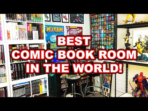The Best COMIC BOOK ROOM In The WORLD!