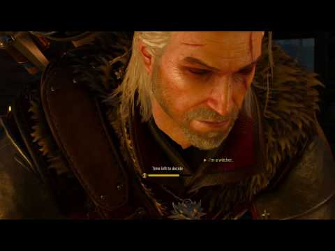 The Witcher 3 Memorable Geralt Quotes (Campaign Part 1)