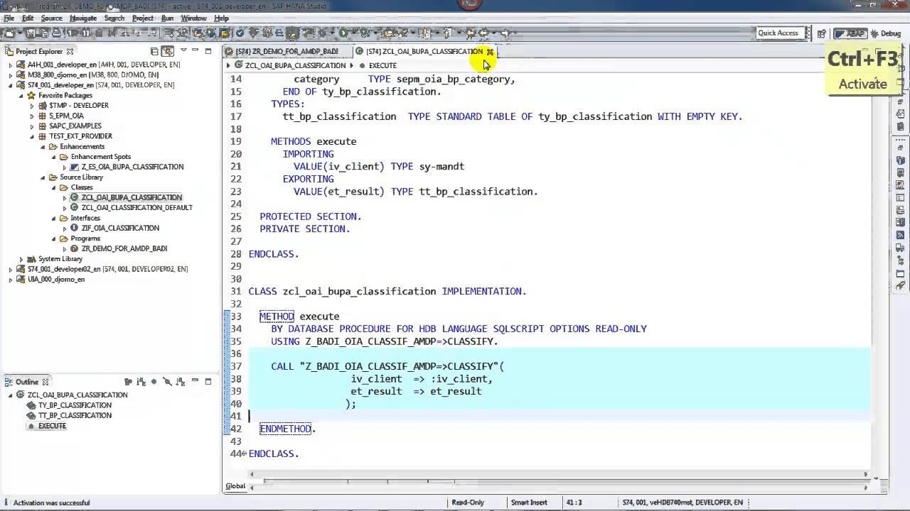 SCN : Blog List - ABAP for SAP HANA