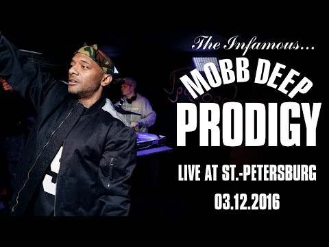Prodigy (of Mobb Deep) - Live @ St.Petersburg 03.12.2016 [Full Show]