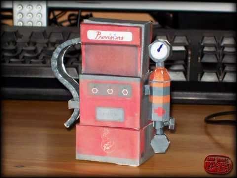 Nemoriko´s : TF2 Sentry/Dispenser as papermodel ;-)