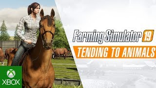 Farming Simulator 19 - Tending to Animals