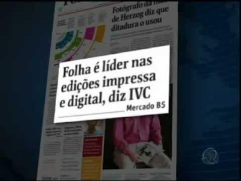 JORNAL FOLHA DE SÃO PAULO PERDE LIDERANÇA PARA O SUPER NOTÍCIA