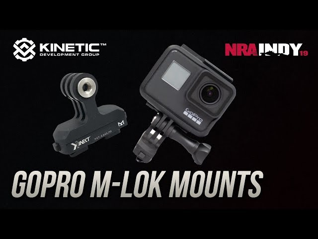 GoPro M-LOK Mounts - Kinetic Development Group