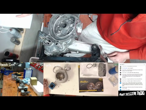 TST Live - Matching Vespa Case for a Pinasco RX190