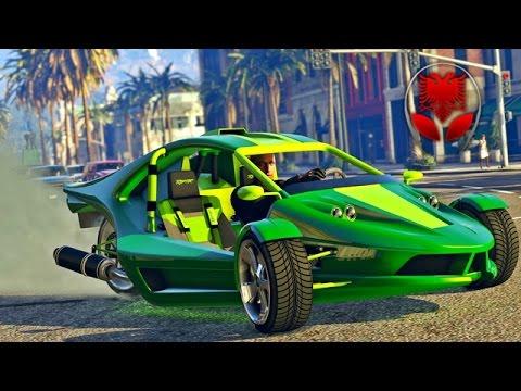 GTA 5 SHQIP - Kerri i ri me 3 Rrota !! + Challenge - SHQIPGaming