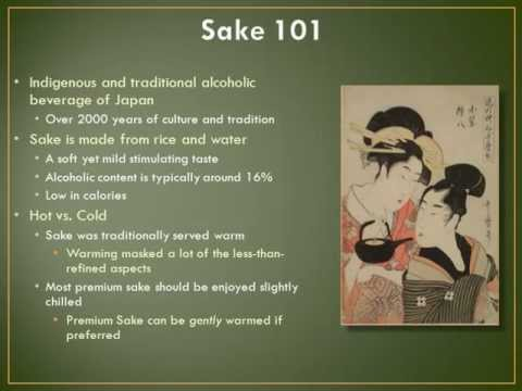 A Taste of Japan Sake Info.wmv